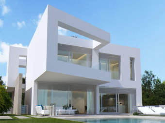 State-of-the-art luxury villa project in front sea line