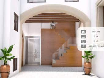 Historic residence with apartments and penthouses in a prime location in Palma's old town