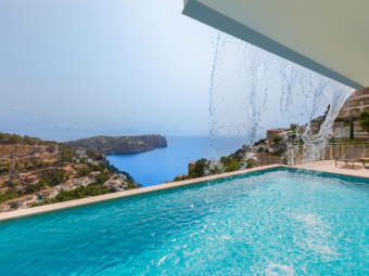 Cala Moragues – Deluxe apartment in small and exclusive residence with spectacular sea views