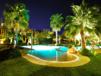 One of a kind finca in an idyllic location on the golf course