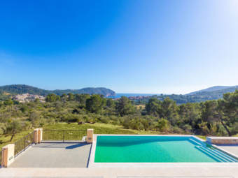Manor house with sensational views, for first time occupancy